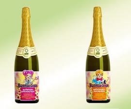 Шампанское детское безалкогольное Волшебное 0.75 л