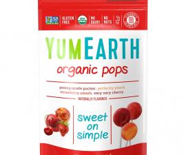 Органические леденцы YumEarth (85 г)
