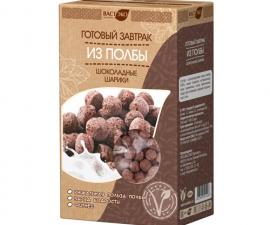 Завтрак шоколадные шарики из полбы 200 г