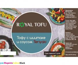Тофу с грибами шиитаке в соусе Royal Tofu 250 г