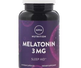 Мелатонин MRM 60 капсул