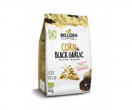 Снек из кукурузы и черного чеснока Bellidea 60 г