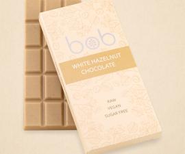 Шоколад белый фундучный Bob 50 г