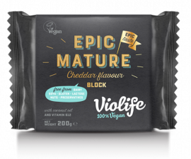 Сыр cheddar Epic Mature  Violife 200 г