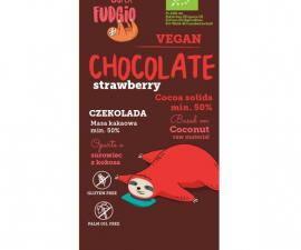 Шоколад с клубникой Super Fudgiо 80 г