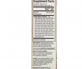 Спрей с витамином B12, со вкусом малины Garden of Life, MyKind Organics 58 мл