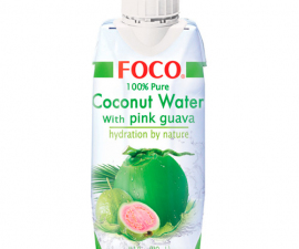 Кокосовая вода с розовой гуавой 330 мл