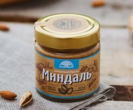 Ореховая паста миндаль Благодар 200 г