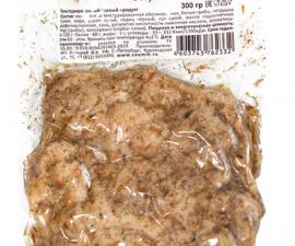 Шницель соевый в соусе с белыми грибами Соймик 300 г