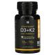 Витамин D3 и K2 Sports Research, 60 капсул